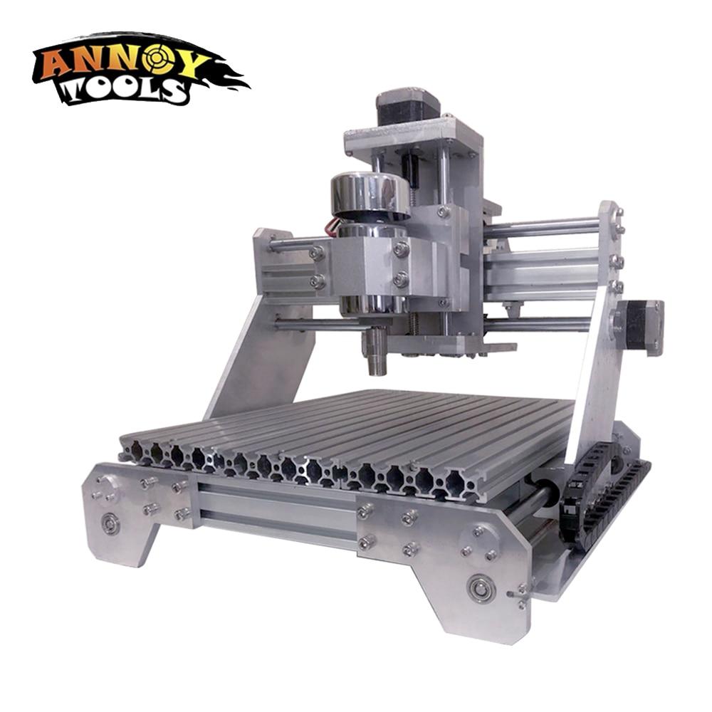 CNC Machine de gravure entièrement en métal ER haute puissance broche petit CNC électrique automatique hors ligne Machine de découpe de métal