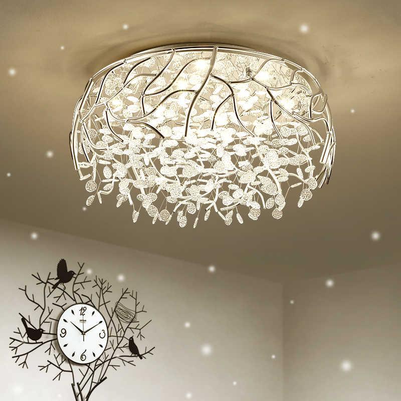 Led Modern Crystal Ceiling Lights