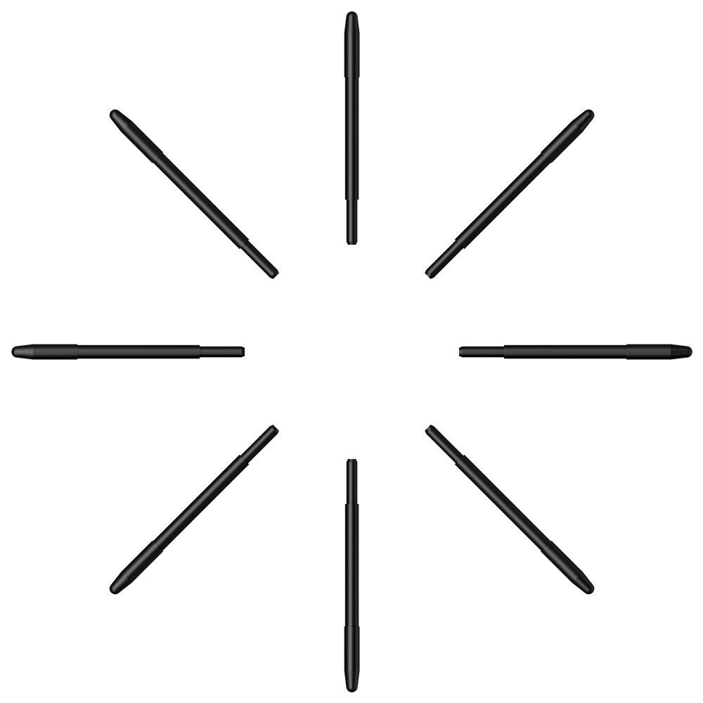 XP-Pen Standard Passive Pen Battery Free Stylus Replacement Nibs 50 Pieces  For XP-Pen Deco Pro ,12Pro,13.3Pro, 15.6 Pro