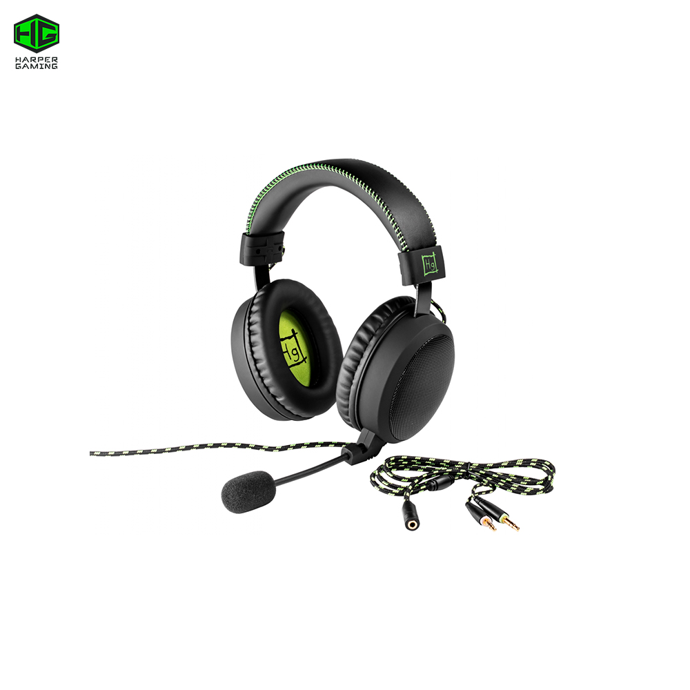PC Computer Gaming Headset HARPER GHS-20X Master cyber sports carprie new replacement atx motherboard switch on off reset power cable for pc computer 17aug23 dropshipping