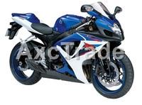 Carenagens da motocicleta Para Suzuki GSXR GSX-R 600 750 GSXR600 GSXR750 2006 2007 K6 06 07 Injeção de Plástico ABS Carenagem Carroçaria BK W