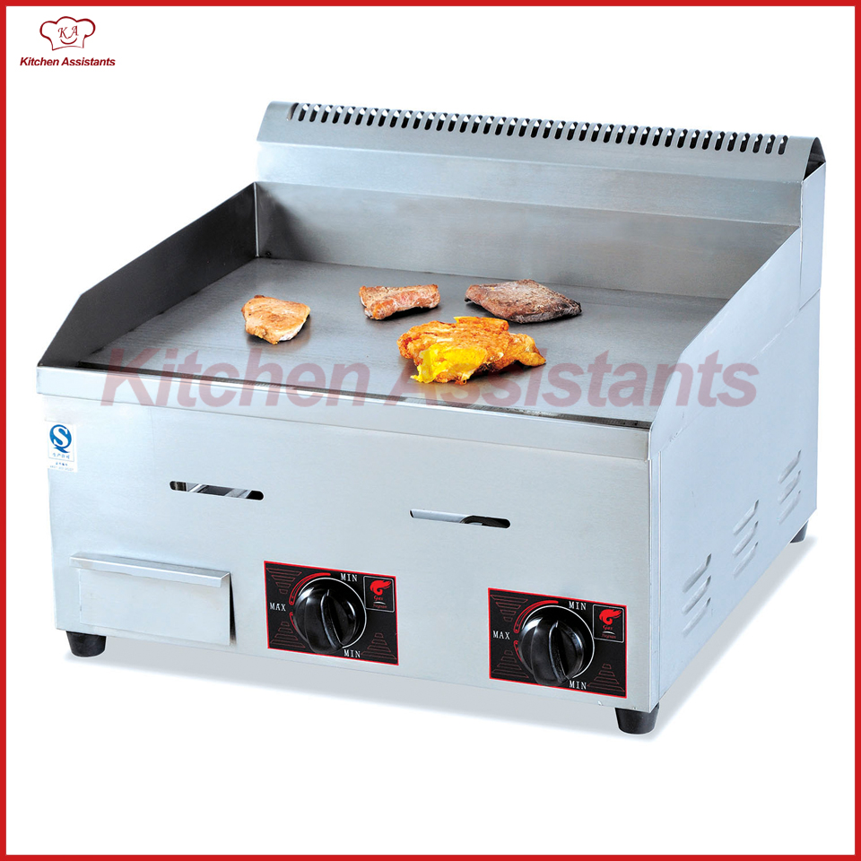 GH720 gas counter top griddle plate machine of catering equipment gh534 counter top commercial vertical gas bain marie of catering equipment