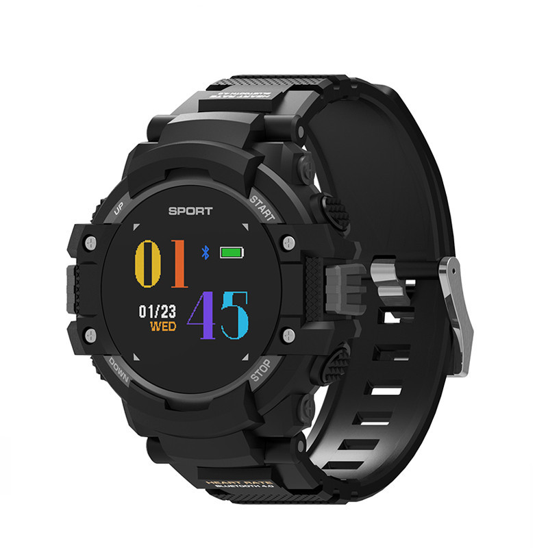 New Smart Watch GPS Color OLED Wristwatch Outdoor Sports Bluetooth Waterproof Heart Rate Men Smartband Bracelet for iOS Android
