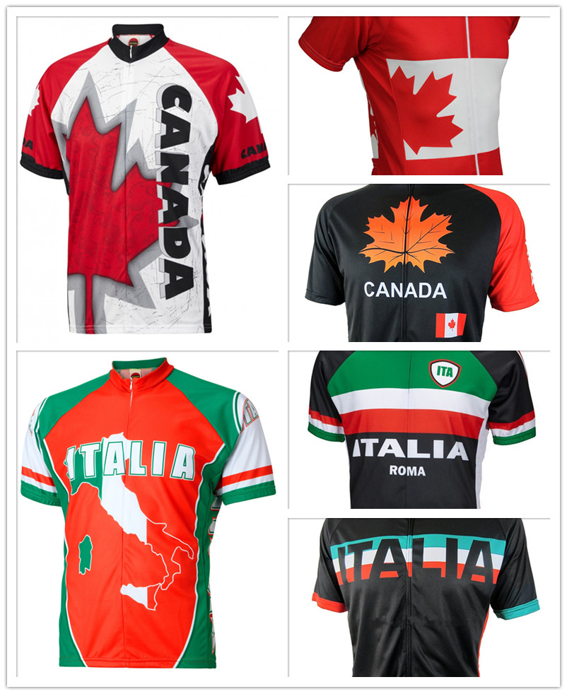 2018 Men s Cycling Jersey Canada Mtb Bicycle Clothing Italy Bike Wear  Clothes Short Maillot Ciclismo Road Bike Cycling Clothing 352d98c87