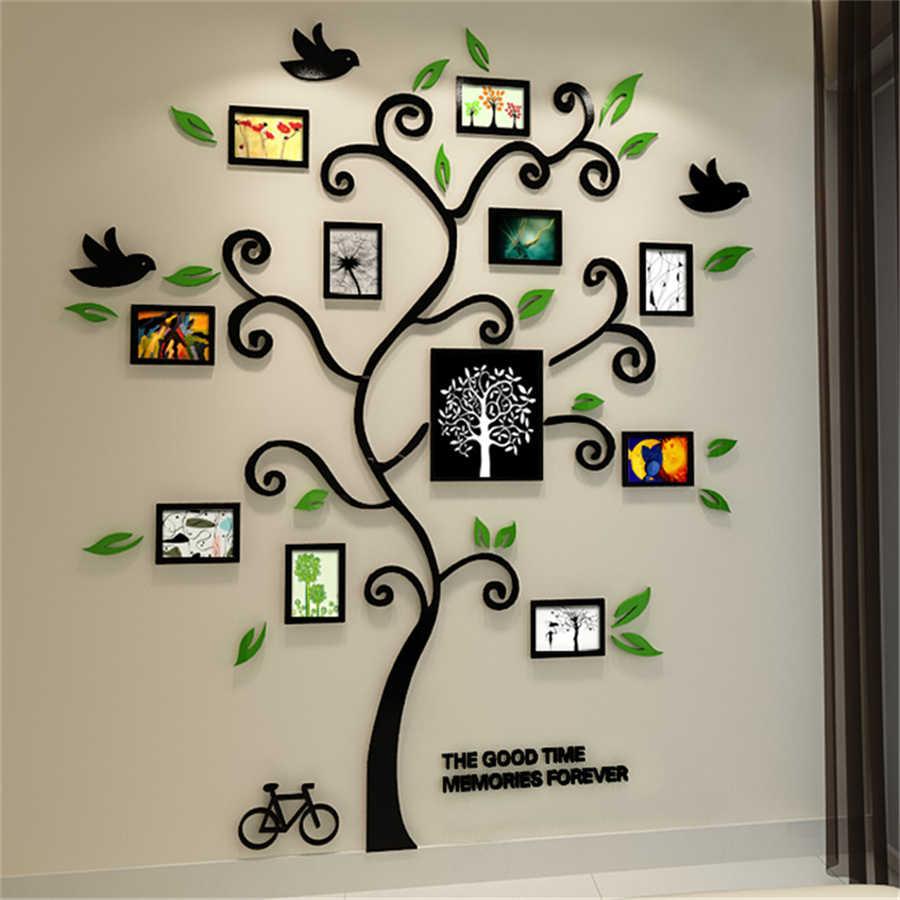 New Family Tree Photo Frame Crystal