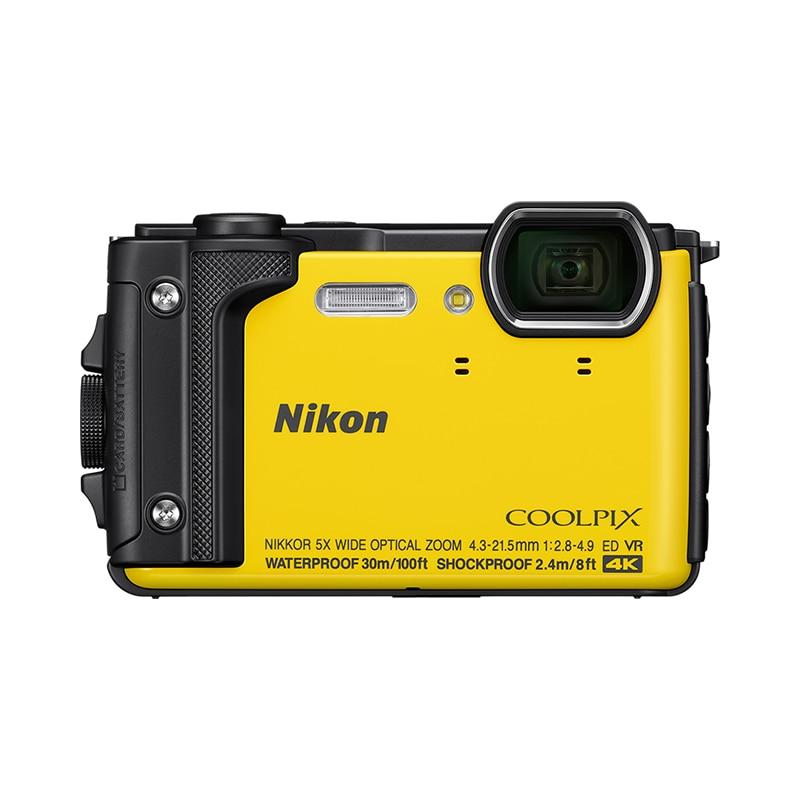Фото - Point & Shoot Camera Nikon COOLPIX W300 Yellow meike fc 100 for nikon canon fc 100 macro ring flash light nikon d7100 d7000 d5200 d5100 d5000 d3200 d310