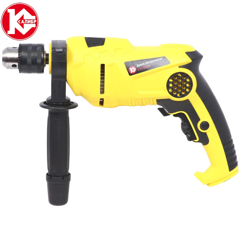 Kalibr DE-750ERUM Multifunctional electric purpose electric Impact Drill electric tool woodworking hole electric drill bit 6pcs