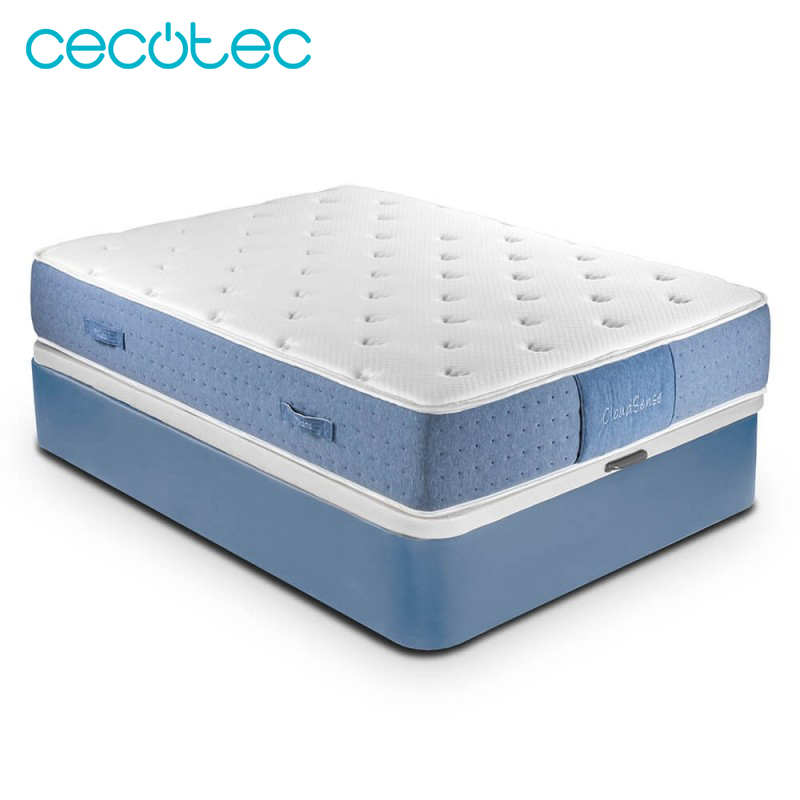 Cecotec Mattress Viscoélastico Viscogel Recolax Premium Visco Springs Made Ensacados