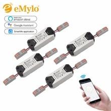 4pcs/Pack AC90 250V 220V 110V 1CH Wireless Wifi Remote Control Light Switch 10A Relay Smart Home Automation