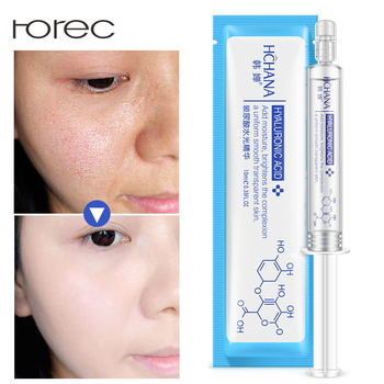 ROREC Moisturizing Hyaluronic Acid+Collagen Injection Face Serum Anti-Wrinkle Anti Aging Liquid Tights Facail Essence Whitening Face Care Serum
