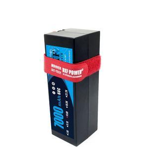 Image 4 - DXF 2S 3S 4S Lipo Battery 7.4V 11.1V 14.8V 5200mah 6500mah 7000mah 8000mah 50C 100C 60C 120C 110C 220C For Akku 1/8  Buggy Car