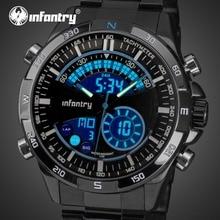 Мужские часы в Военном Стиле, аналоговые, цифровые, мужские часы, лучший бренд класса люкс,, армейские, тактические часы для мужчин, Relogio Masculino