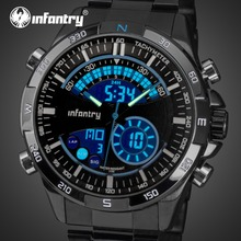 INFANTRY Military Watch Men Analog Digital Mens Watches Top Brand Luxury 2019 Army Tactical Watches for Men Relogio Masculino