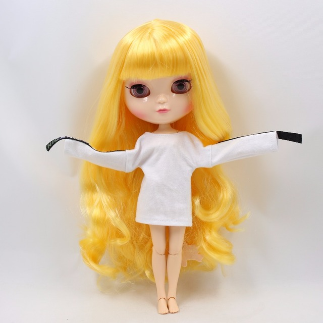 ICY Neo Blythe Doll Yellow Hair Azone Jointed Body