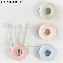 HOMETREE Fashion Multi functional Wall Storage Organizer Kitchen Tools Holder Box Makeup Brush Toothbrush H130