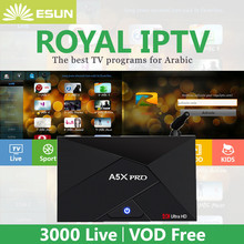 Royal IPTV A5X PLUS Mini 1 8G A5X PRO 2 16G Android TV Box With 1