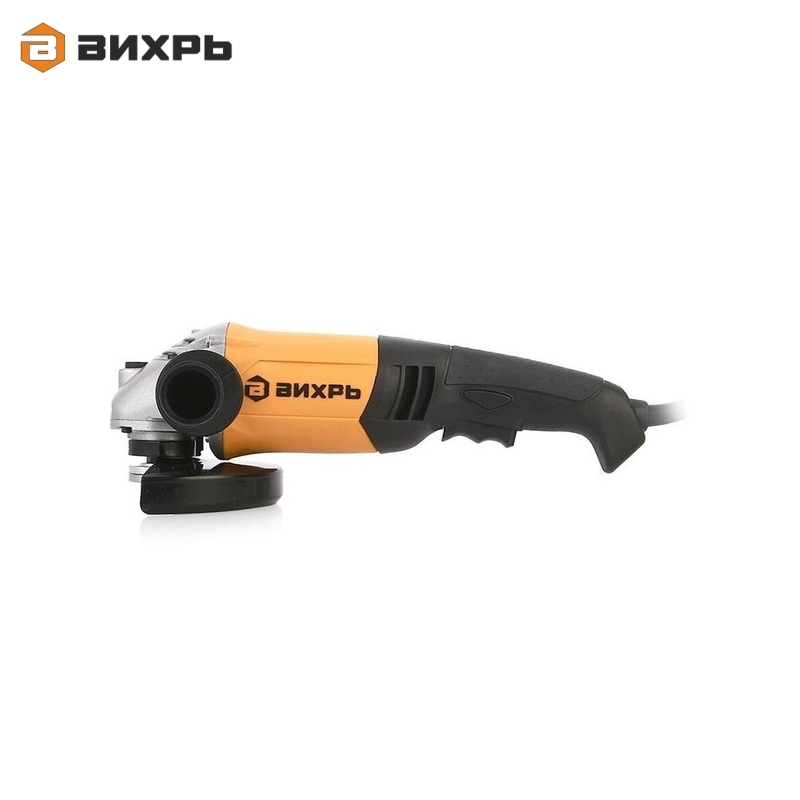 Angle grinder (bulgarian) VIHR USHM-150/1400E Electric portable grinder Angle drive grinder Hand-held grinding tool Polisher цена и фото
