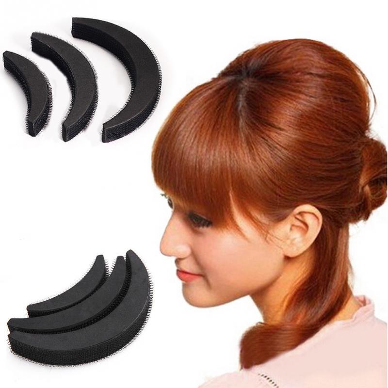 Women Fashion Sponge Hair Style Clip Stick Bun Maker Braid Tooling Hairs Headdress Hair styling tool Accessaries