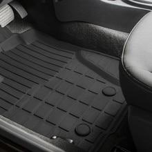 Для Renault Duster 4WD 2010-2014 резиновые коврики в салон 5 шт./компл. Rival 64701002