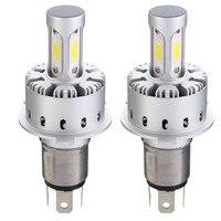 2PCS H4 H7 H11 9005 9006 COB LED Car Headlight Bulb Kit Waterproof Car Front Light