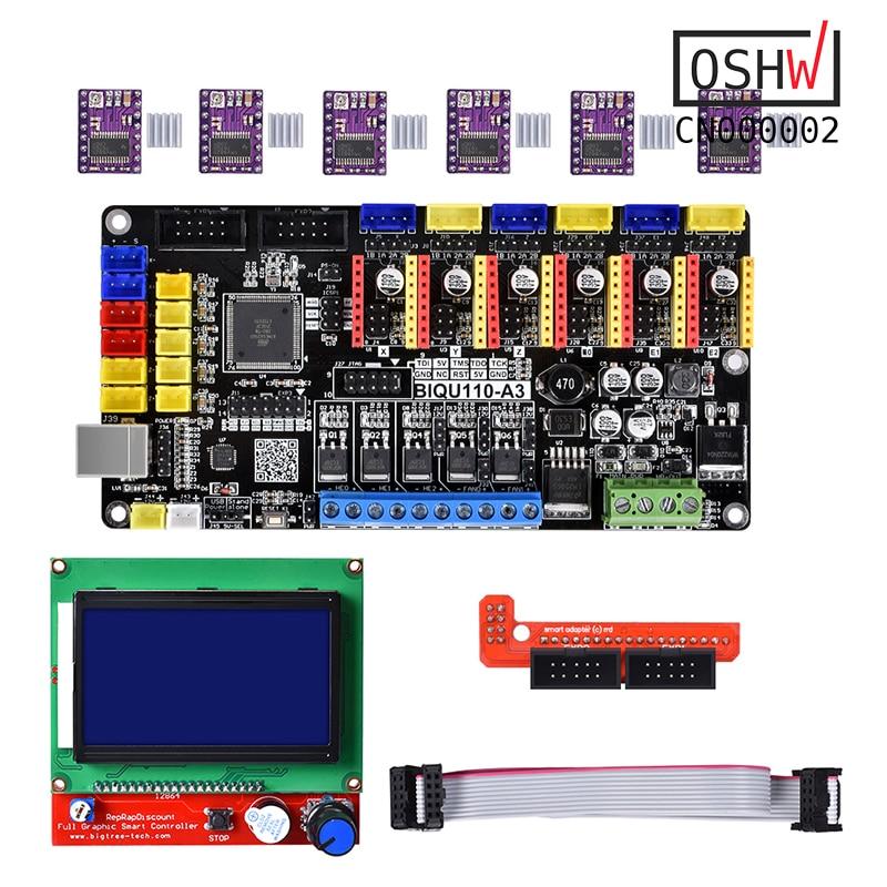 Geeetech RepRap kit RAMPS Pololu A4988 Heat bed MK2a Hotend LCD 2004 controller