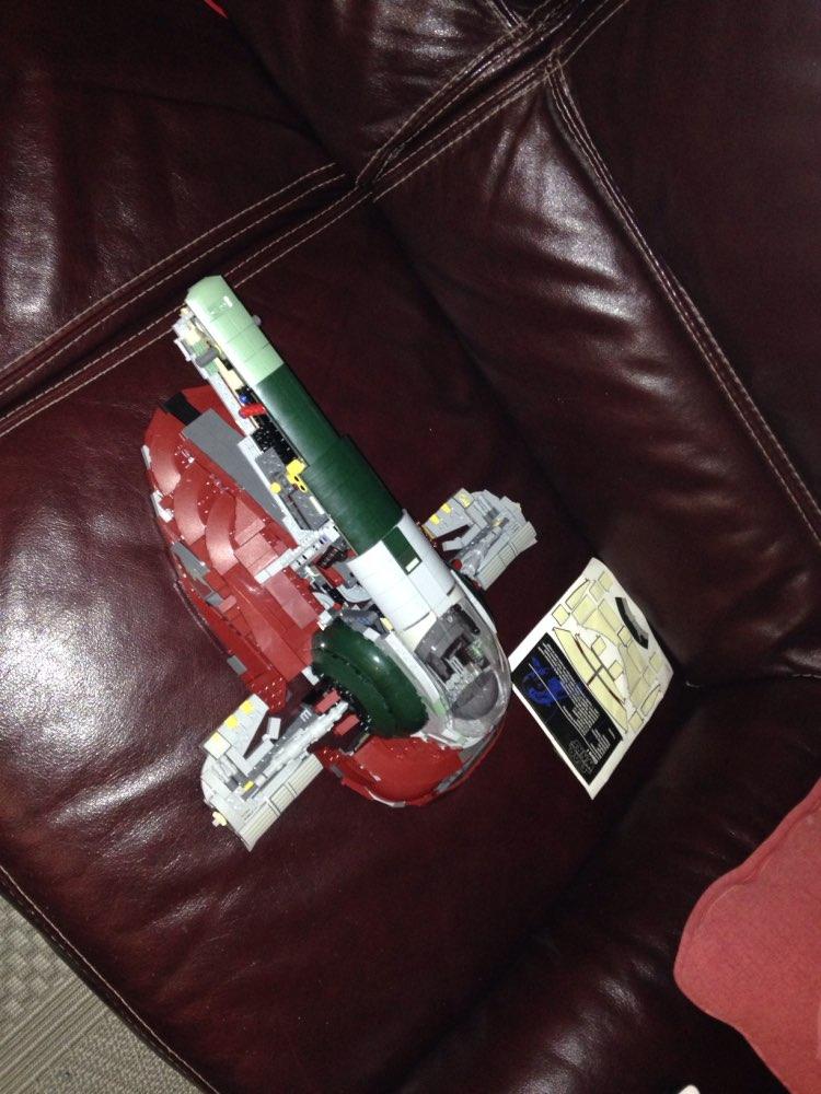 LEPIN 5037 Star Wars The 75060 UCS Slave Set 1 Block Set (2067Pcs) photo review