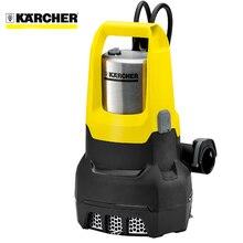 Насос погружной дренажный KARCHER SP 7 Dirt Inox (мощность 750 Вт, производительность до 15500 л/ч, автоматическое включение в зависимости от уровня воды, Макс. глубина погружения 7м, Макс. размер твердых частиц 30 мм