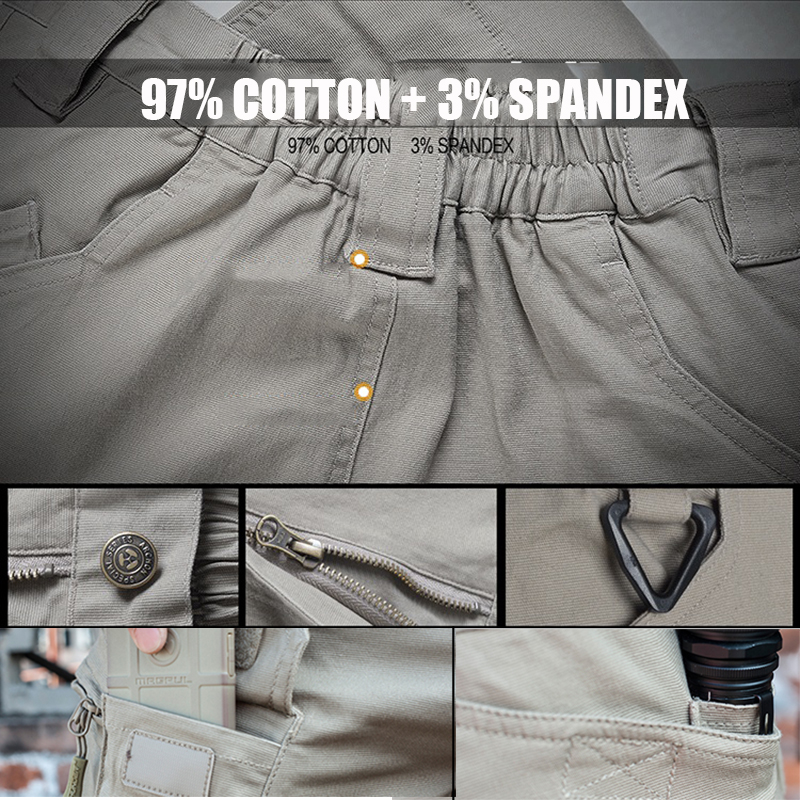 Image 5 - S.ARCHON IX9 City Military Tactical Cargo Pants Men SWAT Combat Army Trousers Male Casual Many Pockets Stretch Cotton Pants-in Cargo Pants from Men's Clothing