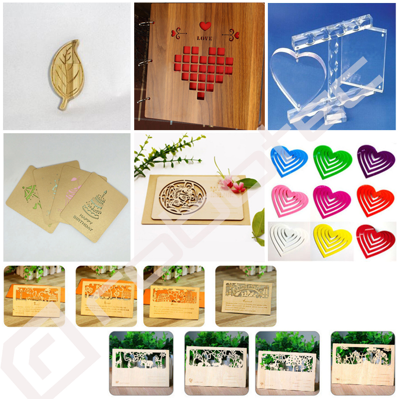 famous mini craft laser cutting machine/ co2 laser cutter engraver 1390 9060 6040