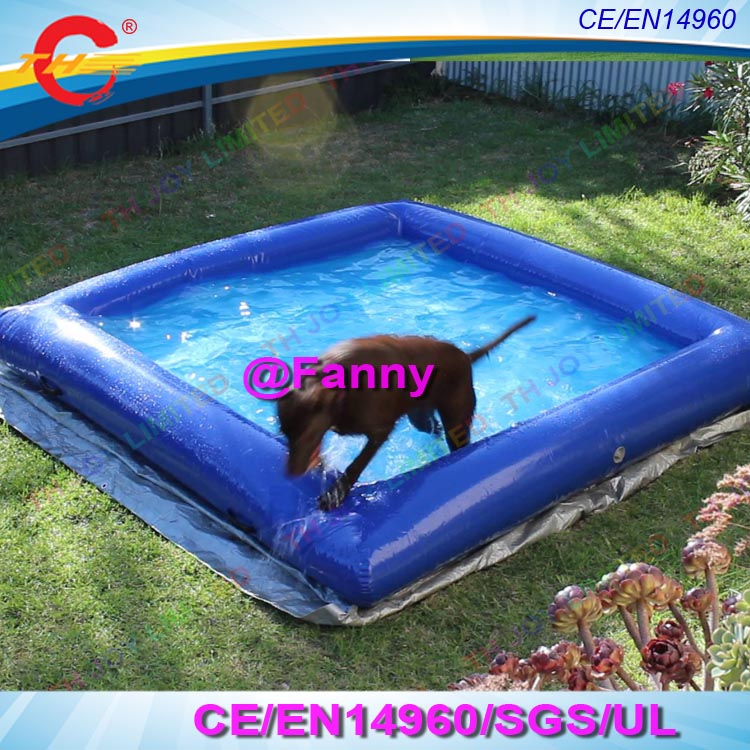 US $300.0 |free air ship to door!best quality pvc inflatable dog swimming  pool,commercial grade dog inflatable pets water pool for sale-in Inflatable  ...