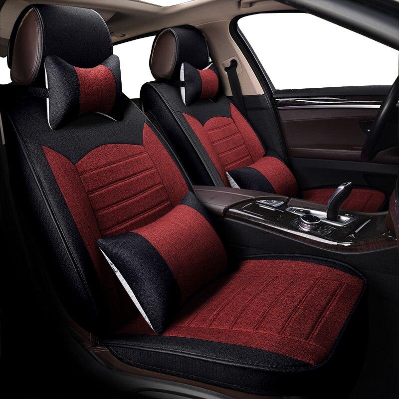 KOKOLOLEE Housses de Siège De Voiture pour Nissan Qashqai Teana Tiida Altima Rouge X-sentier auto accessoires de voiture-voiture de style sièges protecteur