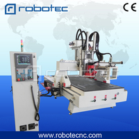 HIWIN Sqaure Rails Cnc Router 2030 Heavy Duty Frame Body Hsd Spindle Tools 3d Wood Carving