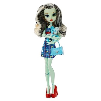Doll Monster High Frankie Stein with pet