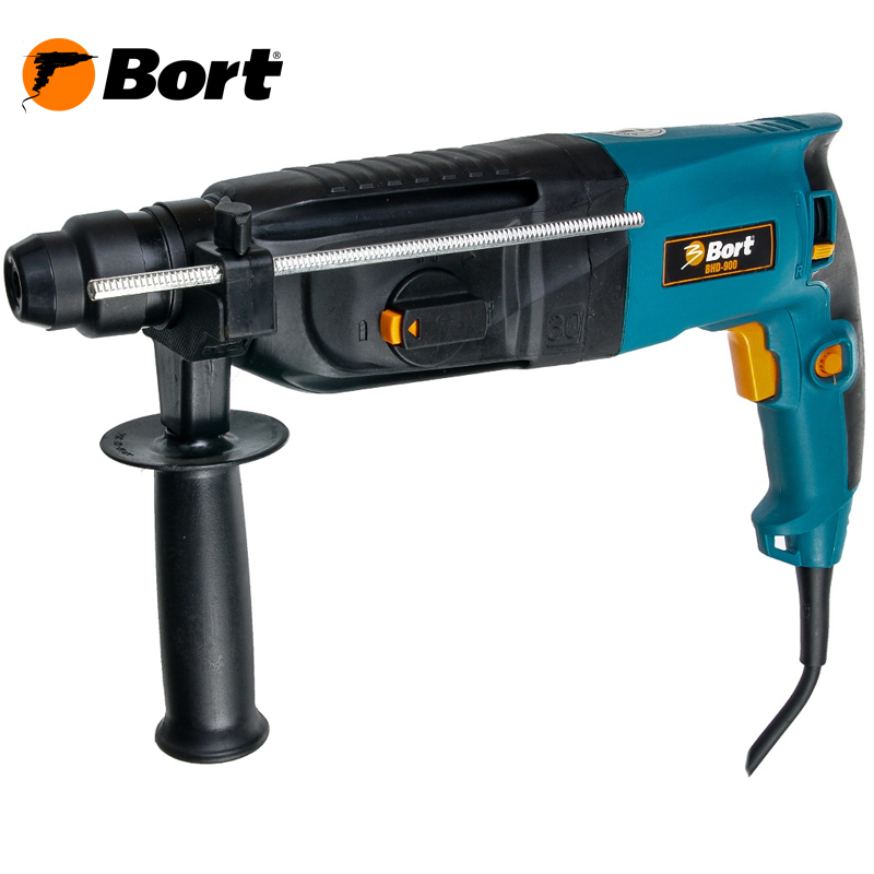 BORT Electric Drill Rotary Hammer Drill Impact Drill Multi function Adjustable Speed Woodworking Power Tool with BMC Accessories BHD-900 bort electric drill rotary hammer drill impact drill multi function adjustable speed woodworking power tool with bmc accessories bhd 900