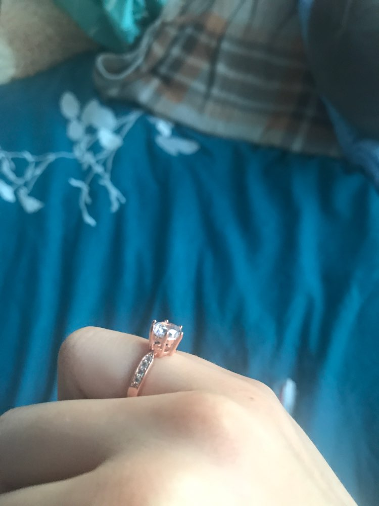 1.75ct AAA Zircon Engagement Rings for women Rose gold color Wedding rings female anel Austrian Crystals Jewelry top quality