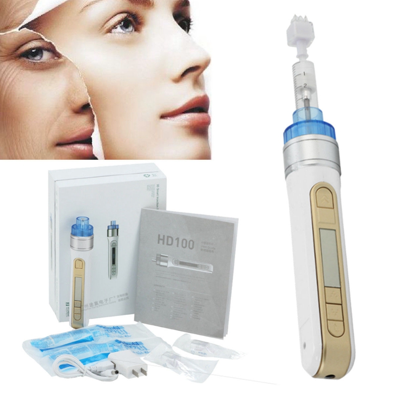 Massage & Relaxation Steady Needle Free Skin Moisture Radio Frequency Mesotherapy Injection Face Lifting With Touch Screen And Led Light For Wrinkle Removal Beauty & Health