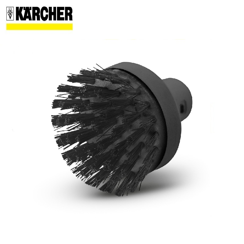 Large round brush Karcher Cleaning seams Corner sections Hard-to-reach places Round brush Round brush for steam cleaner waterproof soft electric toothbrush with elastic nozzle brush heads replacement teeth whitener cleaning oral hygiene teeth brush