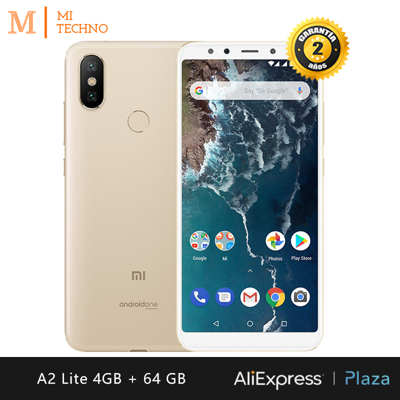 [Global Version] Xiaomi Mi A2 Lite Smartphone 5.84 (RAM 4GB + ROM 64GB, Dual SIM, Battery 4000mAh, Android One)