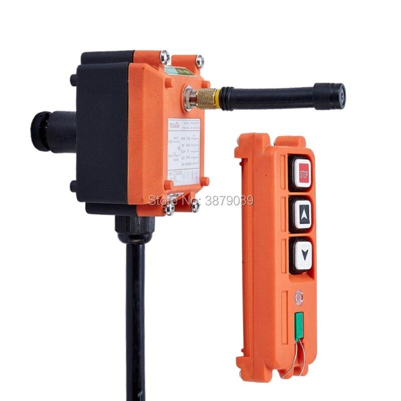 F21 2S (1 émetteur + 1 récepteur) télécommande sans fil industrielle pour grue - 3