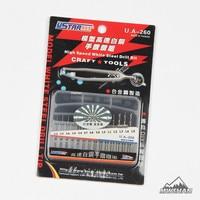 Ustar 90260モデル高速白鋼ドリルビット(14ピース/セット)趣味切削工具細かいアクセサリーdiy