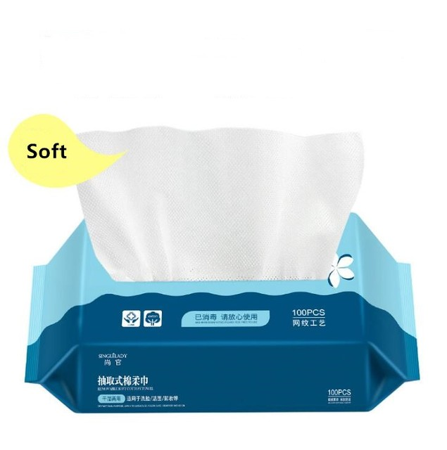 Travel Cotton Disposable Soft Towel