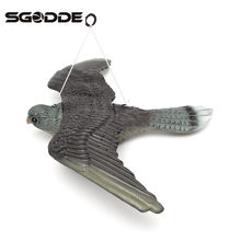 Outdoor Hunting Shooting Decoys Flying Bird Hawk For Pigeon Decoys Garden Yard Plant Scarer Pest Control Bird Caller Good Traps(China)