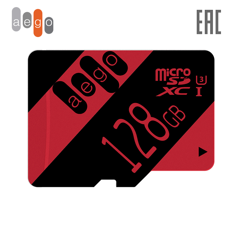 Memory card AEGO 128 GB Class 10 U3 microSDHC UHS I (without adapter)