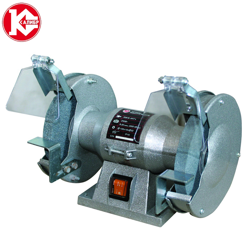 все цены на Kalibr TE-125/250 bench multi-function electric grinder bench polishing machine small grinding wheel онлайн