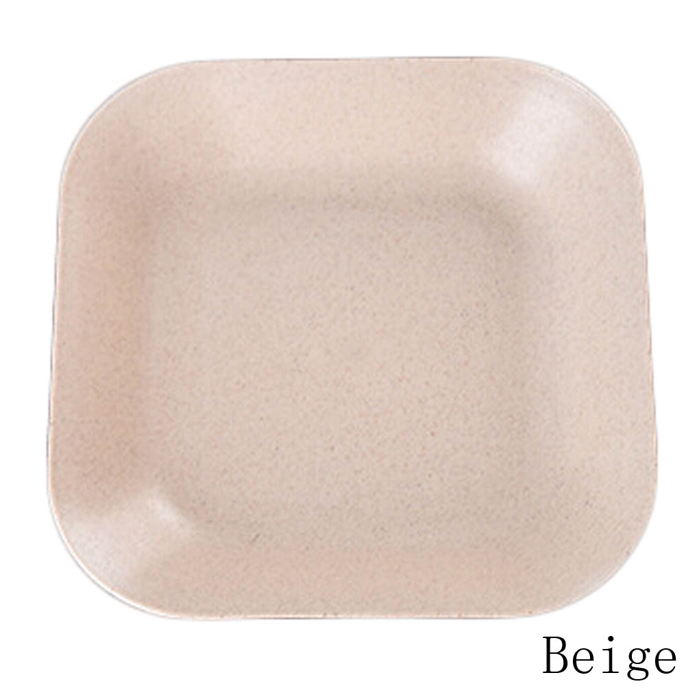 1PC Kitchen Supplies Modern Colorful Plastic Fruit Plate Home Decor Eco  Friendly Square Dish Plates Snacks Bowl Plastic Plate In Dishes U0026 Plates  From Home ...
