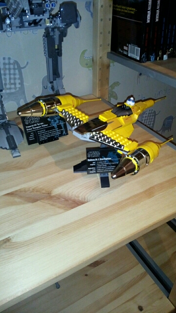LEPIN 05060 Star Wars UCS Naboo Style Fighter Block Set (187Pcs) photo review