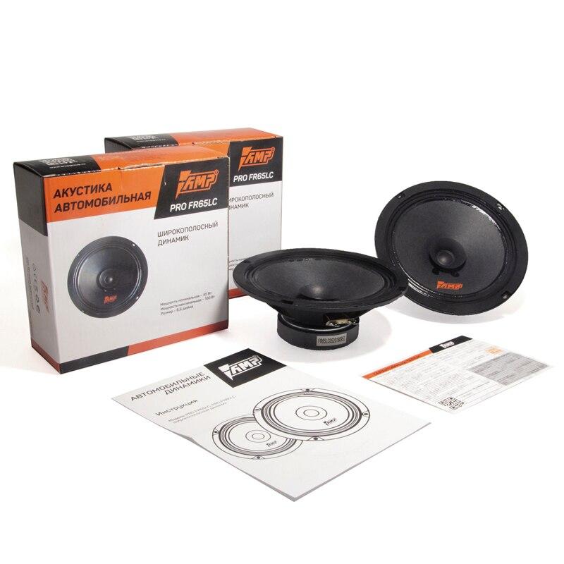 AMP PRO FR65LC Car Speaker Broadband 40W 90 DB 4 Ohm