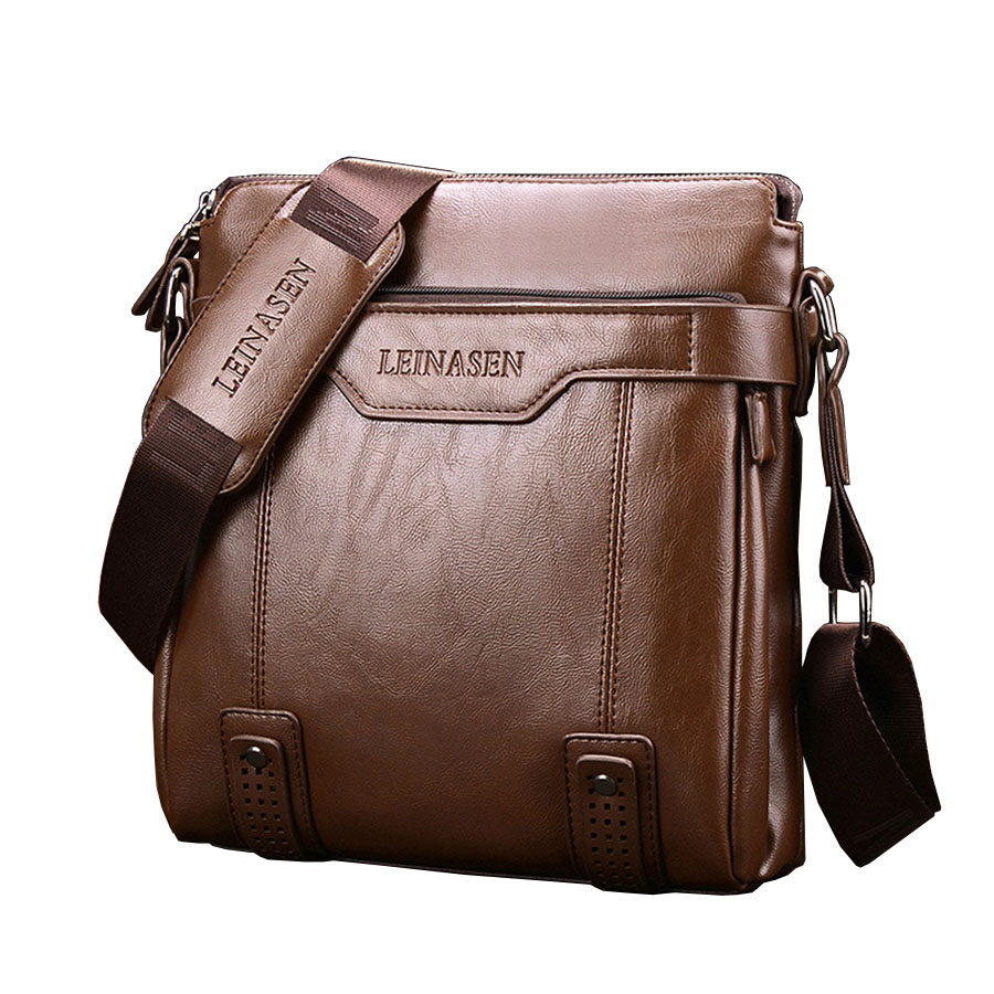 Waterproof Messenger Bag >> 2017 New Fashion leather Men Messenger Bags WaterProof Multifunctional Hot Sale men shouler bag ...