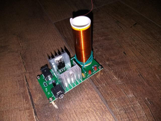 DIY Mini Tesla Coil Module Unassembled Kit