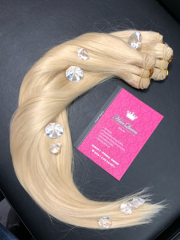 Online Shop Bhf Straight European Remy Human Hair Weft Double Drawn